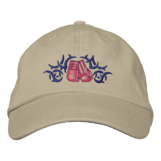 Boxing Tribal Embroidered Hats