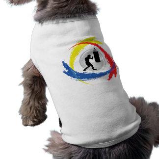 Boxing Tricolor Emblem Shirt
