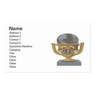 Boxing Trophy Pack Of Standard Business Cards