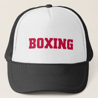 Boxing Trucker Hat