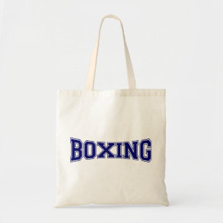 Boxing University Style Budget Tote Bag