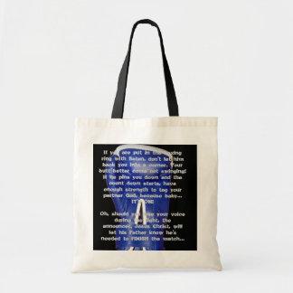 Boxing w/ Satan Budget Tote Bag