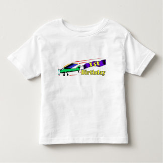 Boy 1st birthday aeroplane toddler T-Shirt