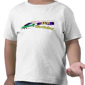 Boy 4th birthday aeroplane tee shirts
