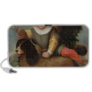 Boy and Dog, `Bibius Vincit' Notebook Speaker