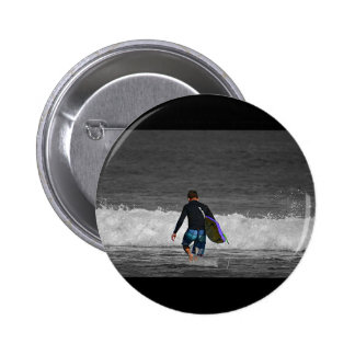 BOY AND HIS BOOGIE BOARD BUTTON