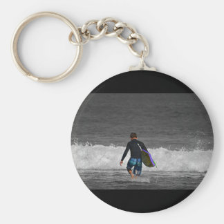 BOY AND HIS BOOGIE BOARD KEYCHAIN