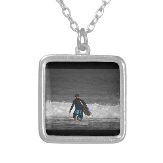 BOY AND HIS BOOGIE BOARD CUSTOM NECKLACE