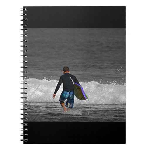 BOY AND HIS BOOGIE BOARD NOTEBOOKS
