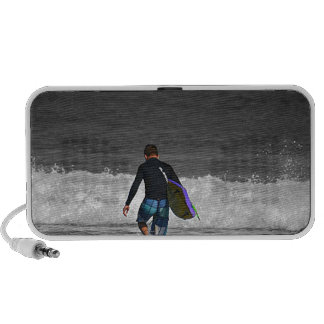 BOY AND HIS BOOGIE BOARD NOTEBOOK SPEAKER