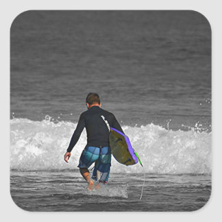 BOY AND HIS BOOGIE BOARD STICKER