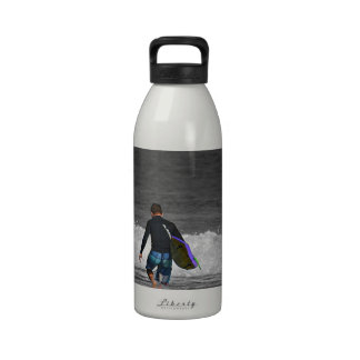 BOY AND HIS BOOGIE BOARD REUSABLE WATER BOTTLES