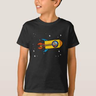 Boy and his Cat Rocket Tee