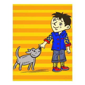 Boy And His Dog 21.5 Cm X 28 Cm Flyer