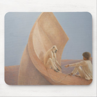 Boy and Monkey 2010 Mouse Mat