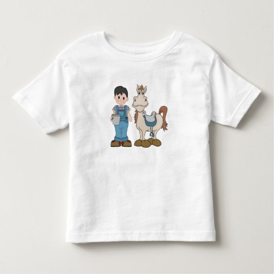 Boy and Pony Toddler T-Shirt