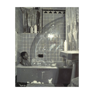 Boy and the Bubble 1990 Canvas Print
