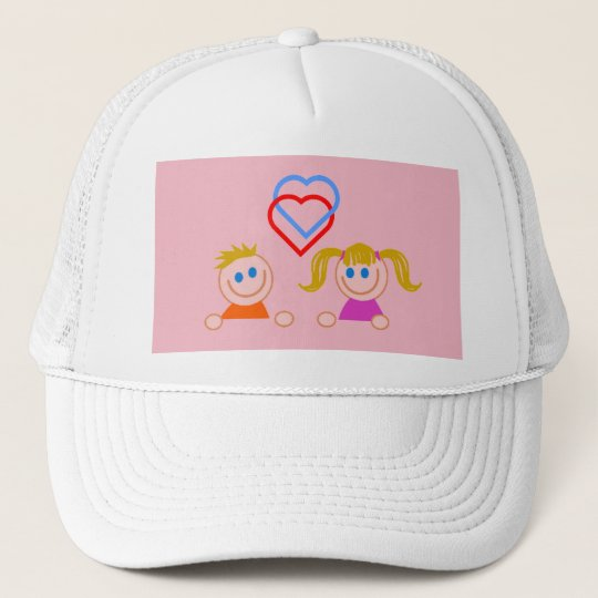 Boy ansd girl love Cap