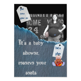Boy-baby shower personalized invitations