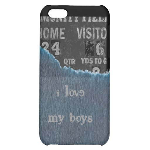 Boy-baby shower case for iPhone 5C