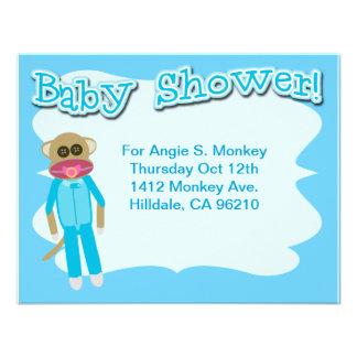 Boy Baby Shower Time Custom Invite