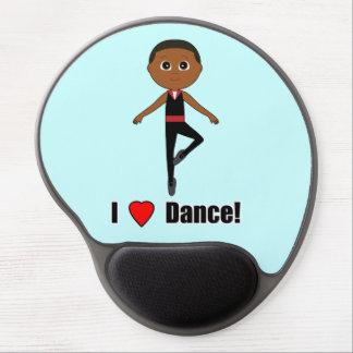 Boy Ballet Dancer Gel Mouse Pad