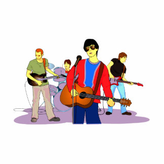 Boy Band Graphic Image Cut Out