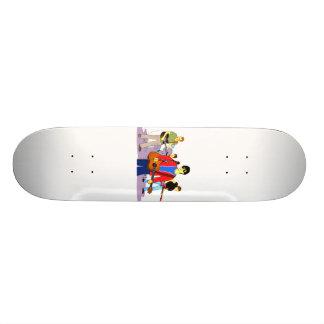 Boy Band Graphic Image Skateboard