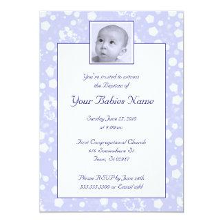 Boy Baptism / Christening Custom Invite