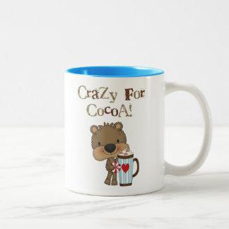 Boy Bear Crazy For Cocoa Holiday Coffee Mugs