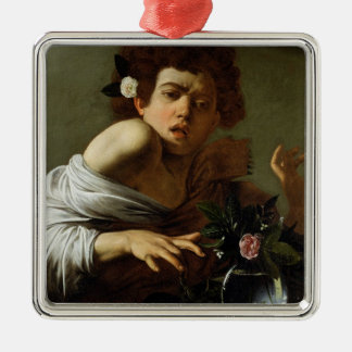 Boy Bitten by a Lizard, c.1595-1600 (oil on canvas Christmas Ornament