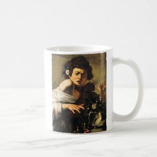 Boy Bitten by a Lizard, Caravaggio Mug