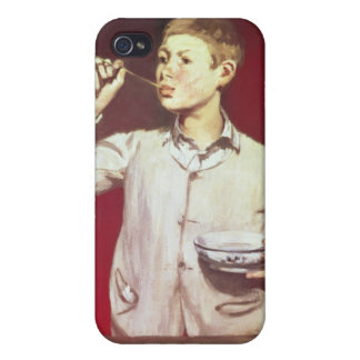 Boy Blowing Bubbles, 1867-69 iPhone 4/4S Case