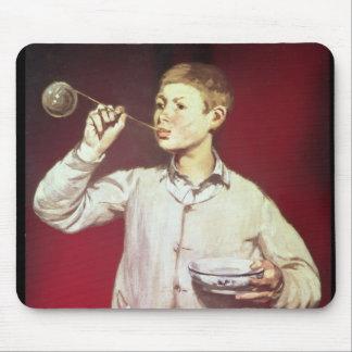 Boy Blowing Bubbles, 1867-69 Mouse Mat