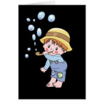 Boy Blowing Bubbles Tshirts and Gifts