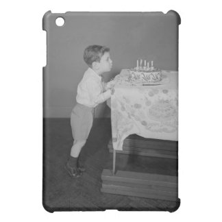 Boy Blowing Out Candles iPad Mini Case