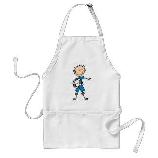 Boy Blue Uniform Soccer Standard Apron