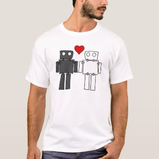Boy Bots in Love T-Shirt