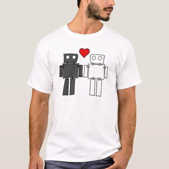 Boy Bots in Love T-Shirt