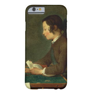 Boy Building a Castle of Cards (oil on canvas) Barely There iPhone 6 Case