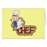 Boy Chef - White T-shirts and Gifts Greeting Card