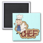 Boy Chef - White T-shirts and Gifts Magnet