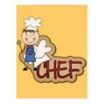 Boy Chef - White T-shirts and Gifts Post Card