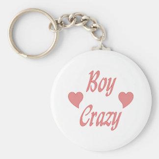 Boy Crazy Hearts Key Chains