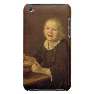 Boy eating Porridge (oil on canvas) iPod Touch Case