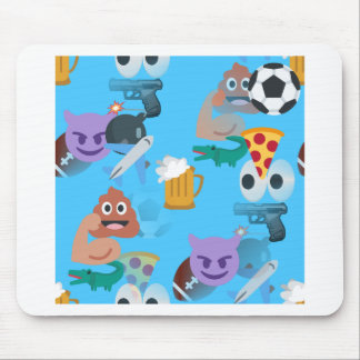 boy emoji mouse mat