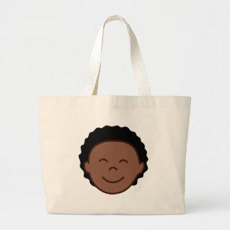 Boy Face Tote Bag