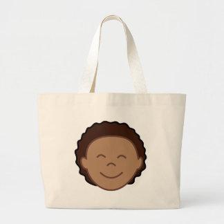 Boy Face Jumbo Tote Bag
