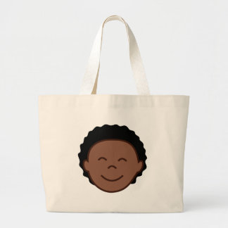Boy Face Jumbo Tote Bag