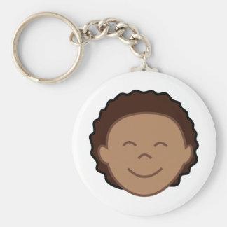 Boy Face Key Chains